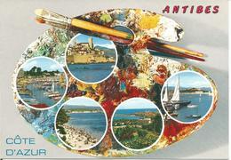 ANTIBES. (scan Verso) - Antibes