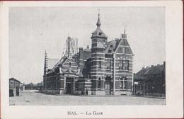Halle Hal La Gare De Statie Station (In Goede Staat) - Halle