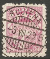 LATVIA. 1923. POSTMARK RUJIENA. USED. - Latvia