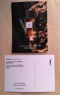Carte Promo Perfume Card TUXEDO * LE VESTIAIRE DES PARFUMS * YVES SAINT LAURENT YSL * R/V - Parfumkaarten
