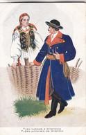 1925'S FOLK COSTUMIES. TYPY LUDOWE Z WILANOWA. TYPES POLONAIS DE WILANOW. WYDAWNBICTWO SALONU- BLEUP - Costumes