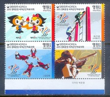 D116- Korea South. 2015. Mungyeong Korea 2015 6th CISM World Games. - Korea, South