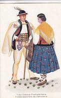 1925'S FOLK COSTUMIES. TYPY LUDOWE PODHALANSKIE. TYPES POLONAIS DE ZAKOPANE. WYDAWNBICTWO SALONU- BLEUP - Costumes