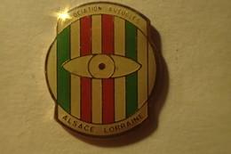 Pin's - Association AVEUGLES ALSACE LORRAINE - Associations