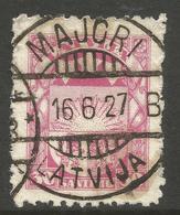 LATVIA. 1923. POSTMARK MAJORI. USED. - Latvia
