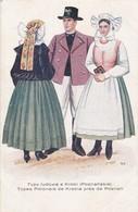1925'S FOLK COSTUMIES. TYPY LUDOWE KROBI(POZNANSKIE). TYPES POLONAIS DE KROBIA PRES POZNAN. WYDAWNBICTWO SALONU- BLEUP - Costumes