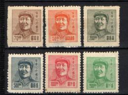 CINA ORIENTALE - 1949 - MAO TSE-TUNG - SENZA GOMMA - Western-China 1949-50