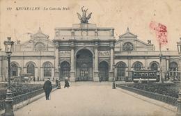 CPA - Belgique - Brussels - Bruxelles - La Gare Du Midi - Spoorwegen, Stations