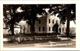 Vermont Brattleboro Weaver's Real Photo - United States
