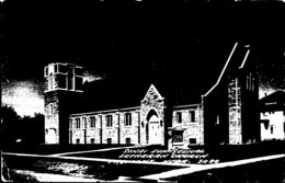 Nebraska Fremont Sinai Evangelicak Lutheran Church Real Photo - Fremont