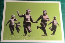 Happy Riot Police ~ Banksy - Schilderijen