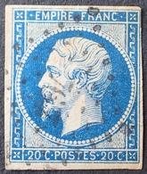 DF40266/242 - NAPOLEON III N°14A - PC 767 : CHATEAU-DE-LOIR (Sarthe) INDICE 4 - 1853-1860 Napoléon III