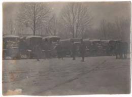 Photo Chalons Sur Marne C.1915 Guerre 1914-1918 - Camion Convoi Militaire Parc 101 - Guerre, Militaire