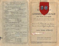 VP15.415 - Ecole Primaire Communale De LA CHARITE - SUR - LOIRE - Livret Mensuel De Correspondance - Elève L. GORRIER - Diplomi E Pagelle