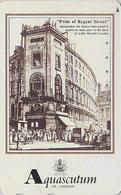 Télécarte Japon / 110-011 - MODE Anglaise - AQUASCUTUM OF LONDON / Fashion England Japan Phonecard - 126 - Japan