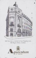 Télécarte Japon / 110-011 - MODE Anglaise - AQUASCUTUM OF LONDON / Fashion England Japan Phonecard - 127 - Japan