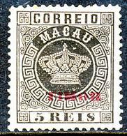 !■■■■■ds■■ Timor 1886 AF#01* Crown 5 Réis 12,5 (d2212) - Timor