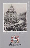 Télécarte Japon / 110-011 - MODE Anglaise - Magasin AQUASCUTUM OF LONDON / Fashion England - Japan Phonecard - 129 - Japan