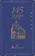 Télécarte Japon / 110 011 - MODE Anglaise -  AQUASCUTUM OF LONDON / Fashion England  150 Years Japan Phonecard - 130 - Japan