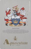 TC Japon / 110-011 - MODE Anglaise AQUASCUTUM OF LONDON / England - BLASON Armoiries  COAT OF ARMS Japan Phonecard - 130 - Japan