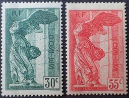 DF40266/253 - 1937 - VICTOIRE DE SAMOTHRACE - N°354 à 355 NEUFS* - Cote : 170,00 € - Nuovi