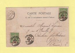 Senegal - St Louis - 25 Nov 1902 - Destination France - Senegal (1887-1944)