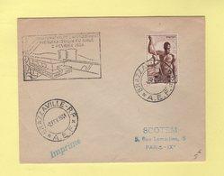 AEF - Brazzaville - Inauguration De L Amenagement Hydroelectrique Du Djoue - 2 Fevrier 1954 - Lettres & Documents