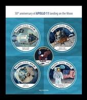 Maldives 2019 Mih. 8334/37 Space. Apollo 11. Moon Landing MNH ** - Maldives (1965-...)