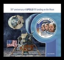 Maldives 2019 Mih. 8338 (Bl.1332) Space. Apollo 11. Moon Landing MNH ** - Maldives (1965-...)