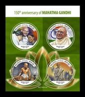 Maldives 2019 Mih. 8349/52 Mahatma Gandhi MNH ** - Maldives (1965-...)