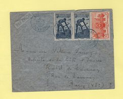 Cote D'Ivoire - Odienne - 22-8-1951 - Destination France - Briefe U. Dokumente