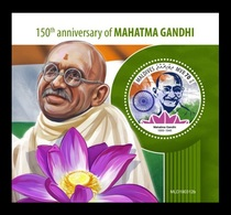 Maldives 2019 Mih. 8353 (Bl.1335) Mahatma Gandhi MNH ** - Maldives (1965-...)