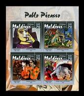 Maldives 2019 Mih. 8359/62 Paintings Of Pablo Picasso MNH ** - Maldives (1965-...)