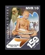 Maldives 2019 Mih. 8366 Mahatma Gandhi Moments. Leo Tolstoy's Ideas On Nonviolent Resistance MNH ** - Maldives (1965-...)