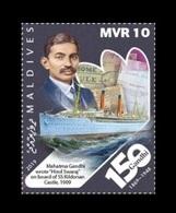 Maldives 2019 Mih. 8367 Mahatma Gandhi Moments. Hind Swaraj On Board Of Ship Kildonan Castle MNH ** - Maldives (1965-...)