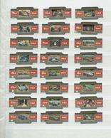Série Complète  Formule 1 Et Plaque De Voiture - Bagues De Cigares