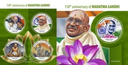 Z08 MLD190312ab MALDIVES 2019 Mahatma Gandhi MNH ** Postfrisch - Maldives (1965-...)