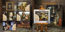 Z08 TG190235ab TOGO 2019 Leonardo Da Vinci MNH ** Postfrisch - Togo (1960-...)
