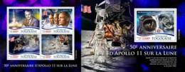 Z08 TG190239ab TOGO 2019 Apollo 11 Moon Landing MNH ** Postfrisch - Togo (1960-...)