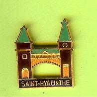 Pin's Ville Du Québec Saint-Hyacinthe - 4GG06 - Städte