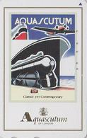 TC Japon / 110-016 - Pub AQUASCUTUM OF LONDON  Fashion England - BATEAU & AVION - SHIP & PLANE Japan Phonecard - 141 - Boats
