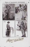 TC Japon / 110-011 - MODE Anglaise AQUASCUTUM OF LONDON / England - Historique 4 Vues & Avion Plane  Japan Phonecard 143 - Fashion