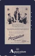RARE TC Japon / 110-016 - MODE Anglaise AQUASCUTUM OF LONDON / England - FASHION * Regent Street * Japan Phonecard -145 - Fashion