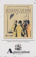 Télécarte Japon / 110-016 - MODE Anglaise AQUASCUTUM OF LONDON / England - FASHION Japan Phonecard - 146 - Fashion