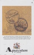Télécarte Japon / 110-016 - MODE Anglaise AQUASCUTUM OF LONDON / England - PRINCE OF WHALES MEDAL  Japan Phonecard - 147 - Japan