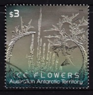 Australian Antarctic 2016 Ice Flowers $3 Used - Australian Antarctic Territory (AAT)
