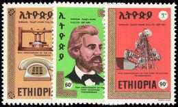 Ethiopia 1976 Telephone Centenary Unmounted Mint. - Ethiopia