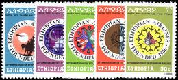 Ethiopia 1976 Ethiopian Airlines Unmounted Mint. - Ethiopia