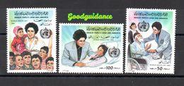 1983- Libya - World Health Day Medical Hospital Doctor Nurse Nursing WHO -MNH** - Libië