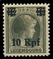 BES. 2WK LUXEMBURG Nr 22 Postfrisch X82AF06 - Besetzungen 1938-45